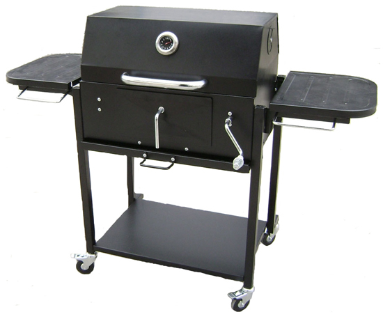 xxl bbq smoker grillwagen smoker grill barbecue arizona. Black Bedroom Furniture Sets. Home Design Ideas